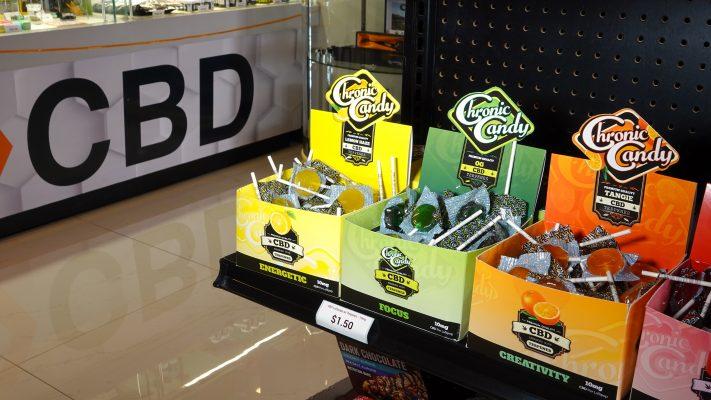 CBD Advertising in a Marijuana Dispensary