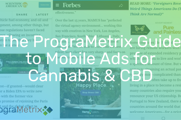 Cannabis and CBD Mobile Ad Guidelines