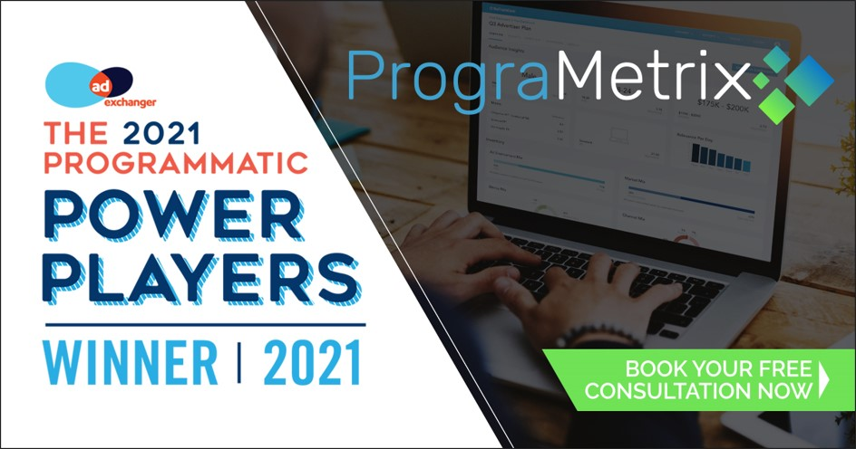 PrograMetrix was chosen by AdExchanger as the top programmatic agency and one of the programmatic power player winners in 2021.